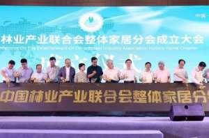 大自然见证中国林业产业联合会整体家居分会诞生都匀